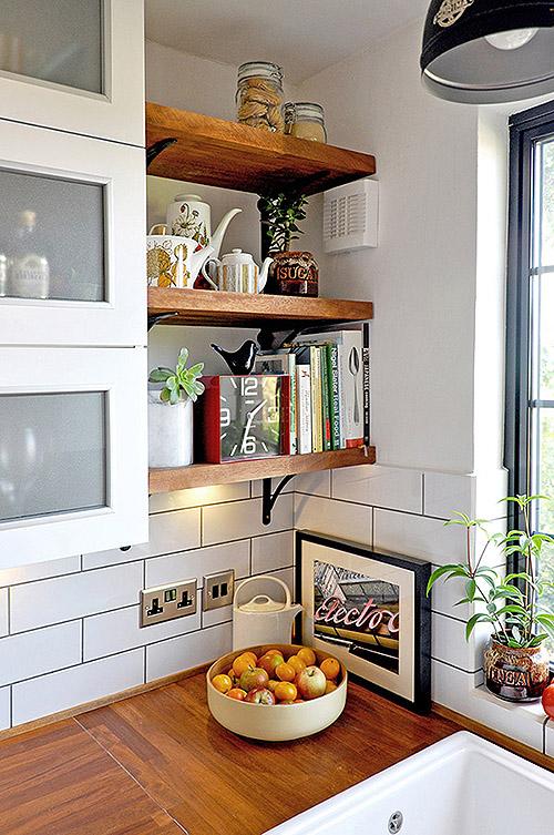 Kitchen Design Open Shelves