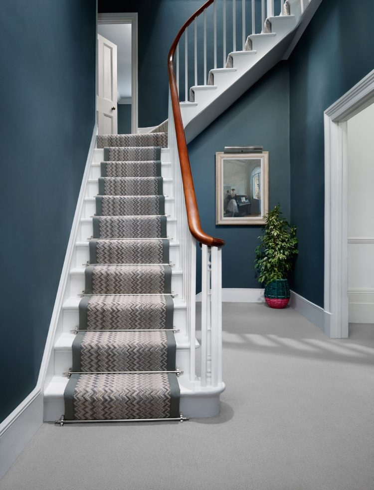 43 Cool Carpet Runners For Stairs To Make Your Life Safer   Carpet Colors For Stairs