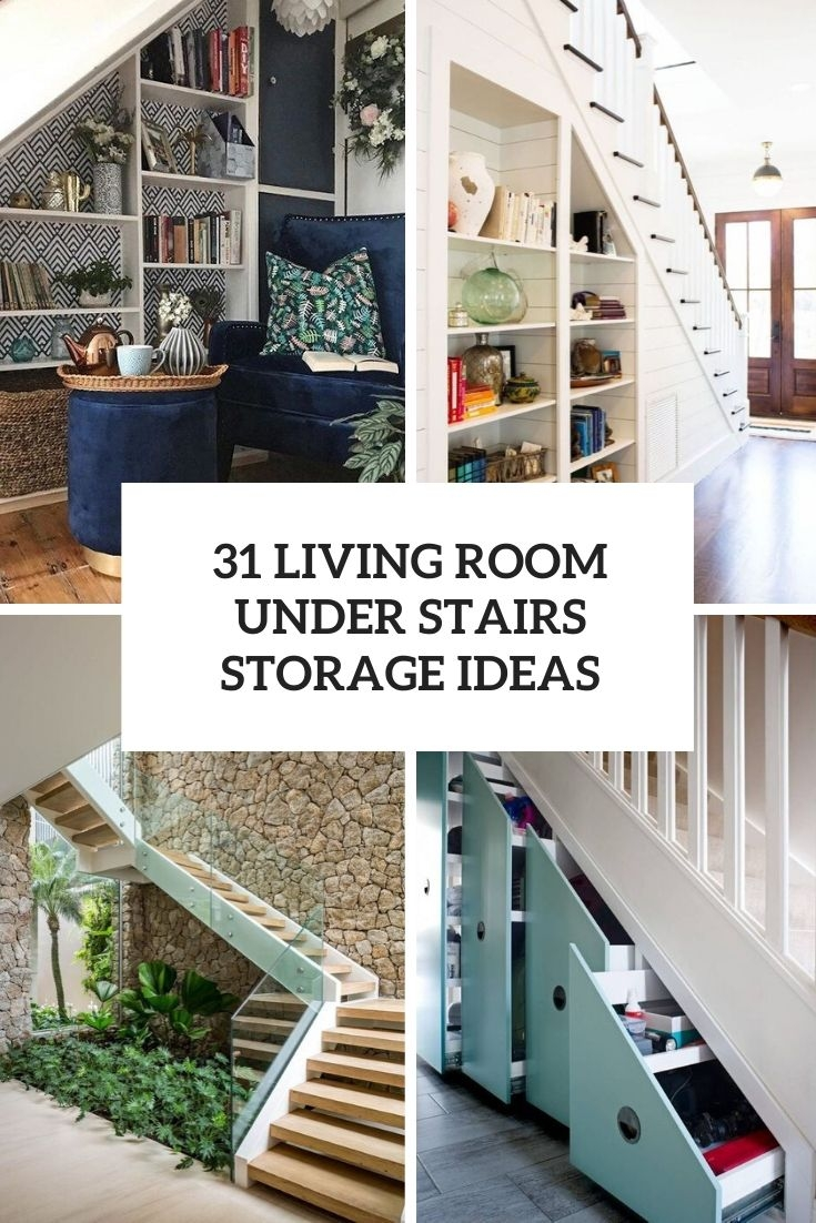 31 Living Room Under Stairs Storage Ideas Shelterness | Living Room Stairs Design | Home | Classic House | Catalogue | White | Semi Circle House