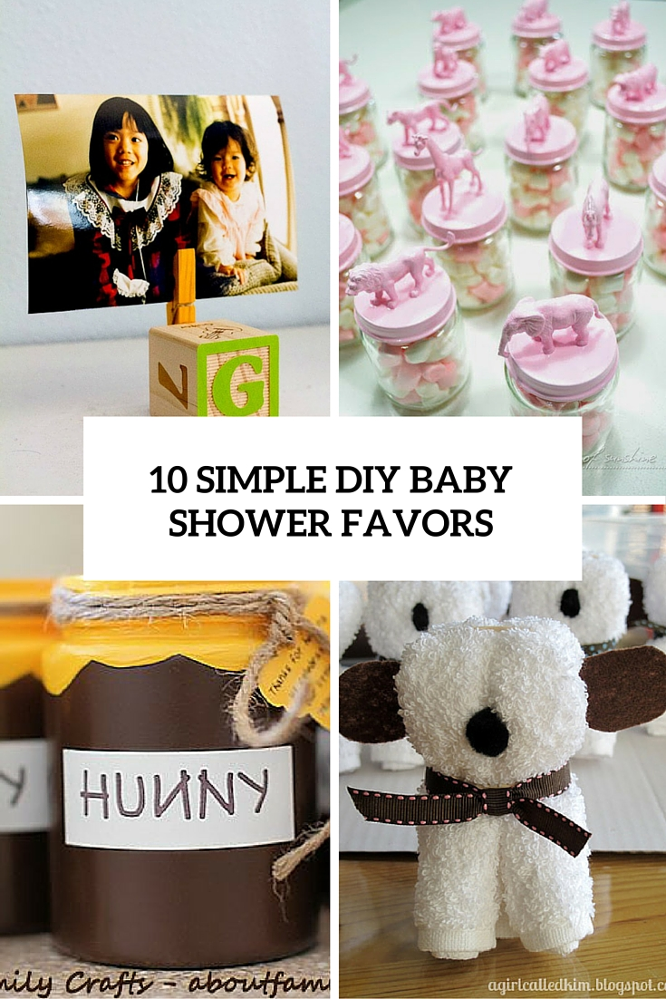 Easy Baby Shower Favors