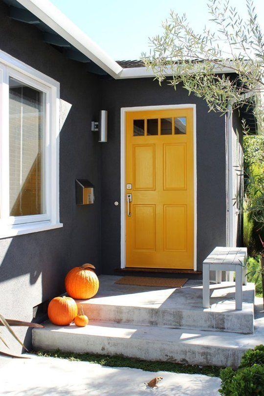 Contemporary Front Door Decor