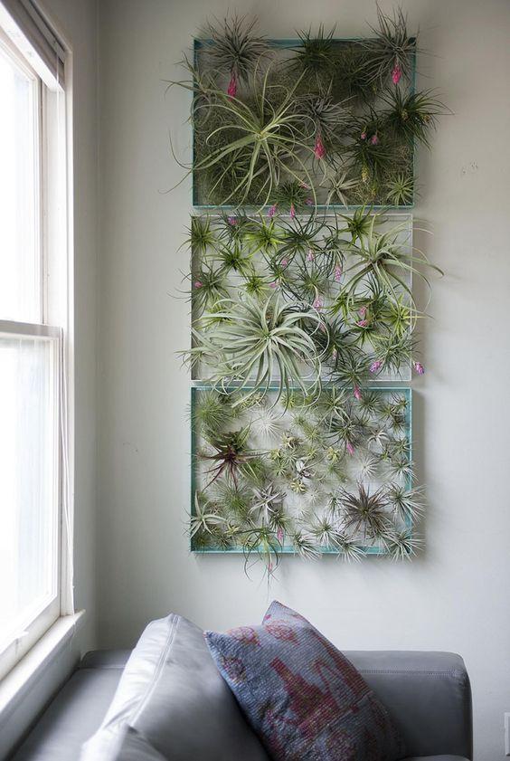 Hanging Pots Metal Flower