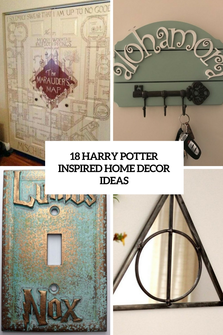 18 Harry Potter Inspired Home D    cor Ideas   Shelterness harry potter inspired home decor ideas cover
