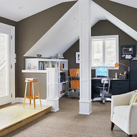 21 Cool Attic Home Office Design Ideas Shelterness