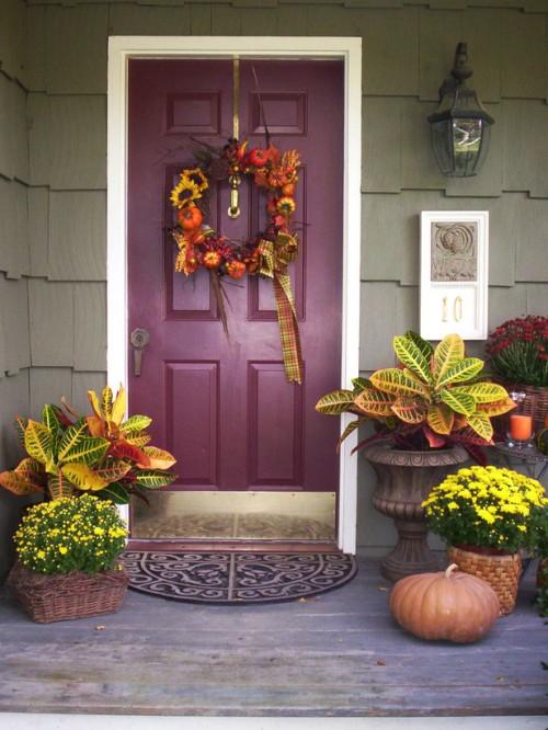 Thanksgiving Front Porch Ideas