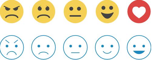 Moderate Smiley S Happy Sad