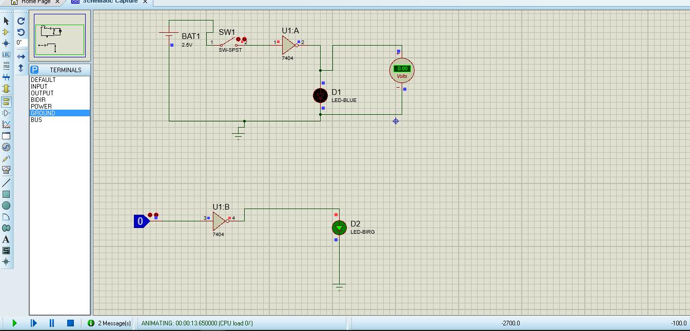 Led Power Indicator Circuit