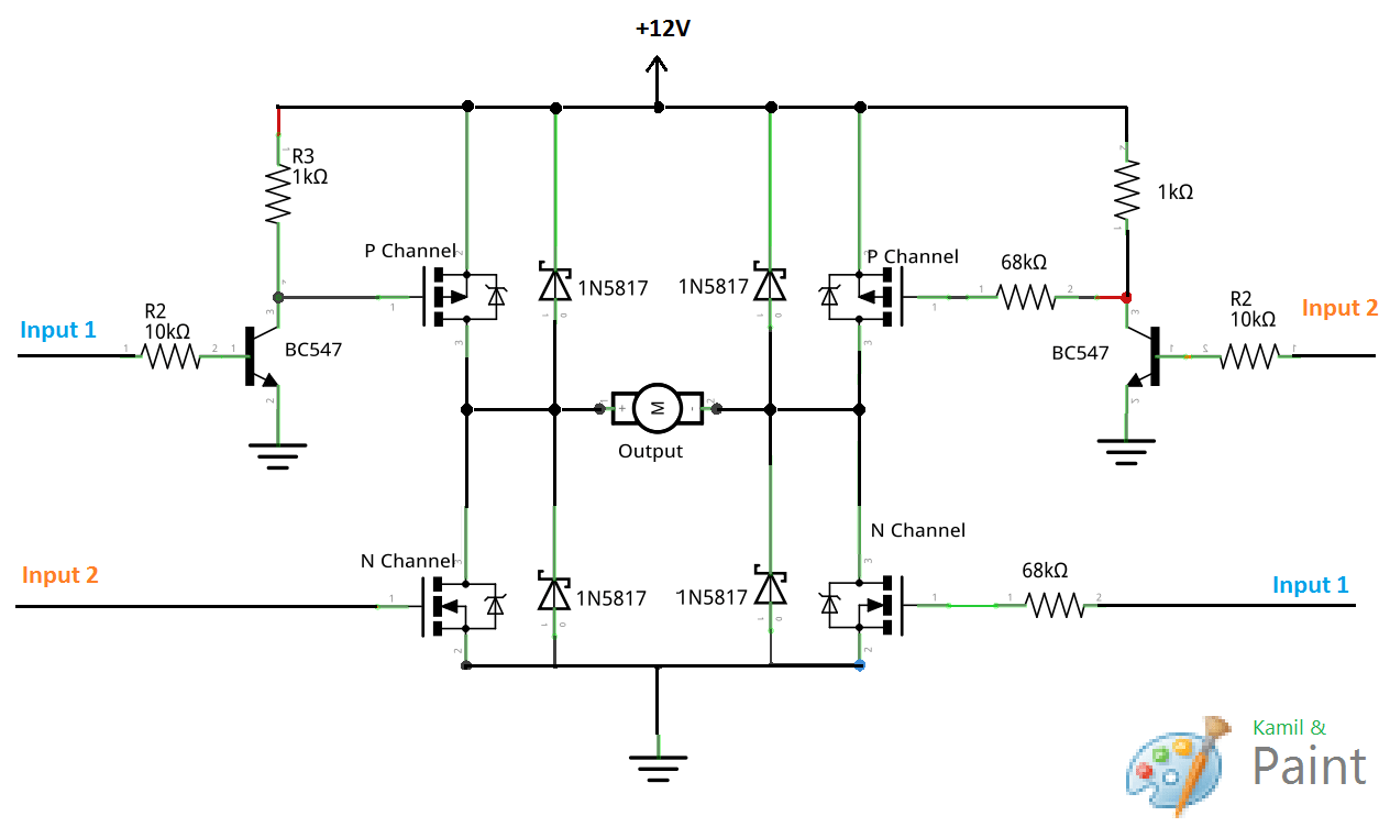 Fet Motor Control Circuit Lm1040 Tone Design Electronic Project