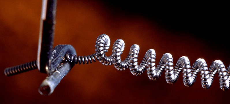 Tungsten Light Bulb Filaments