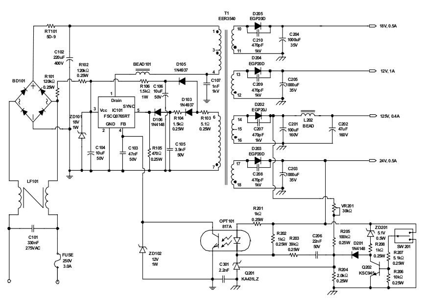 Dc Power Supply Schematic 50v 0