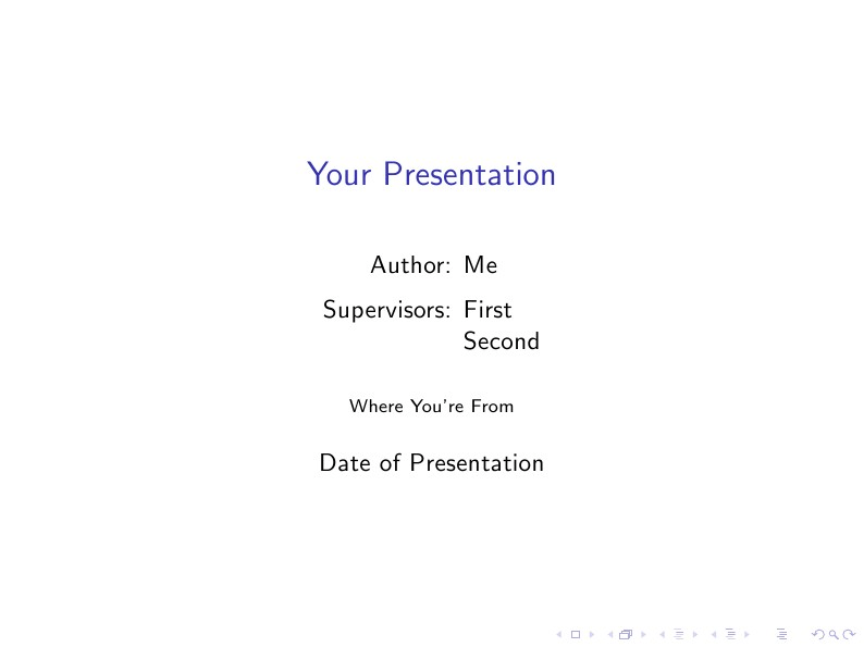 Presentation Questions Slide End Page