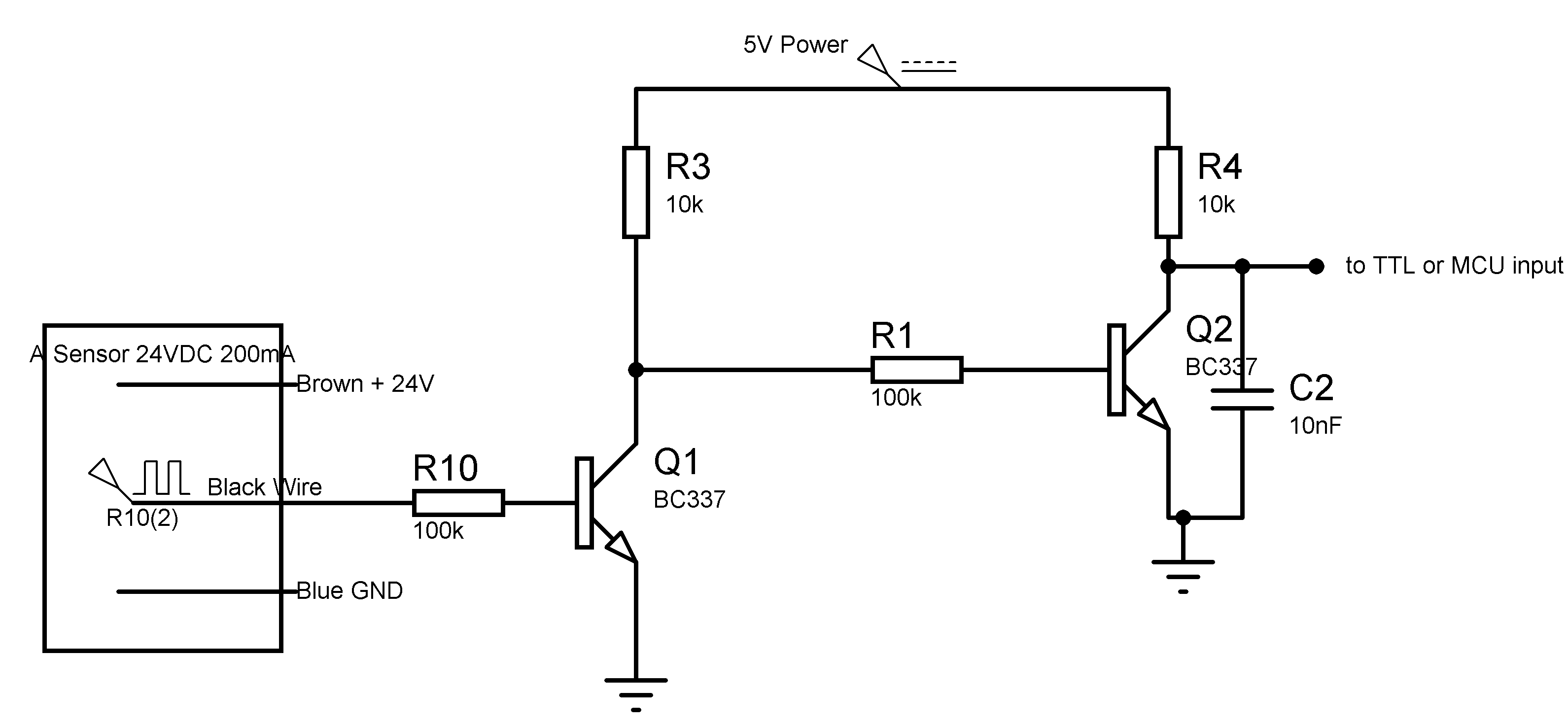 Hall Effect Sensor Wiring Diagram