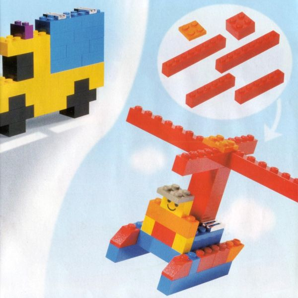 building   LEGO ideas  with traditional bricks    Bricks helicopter
