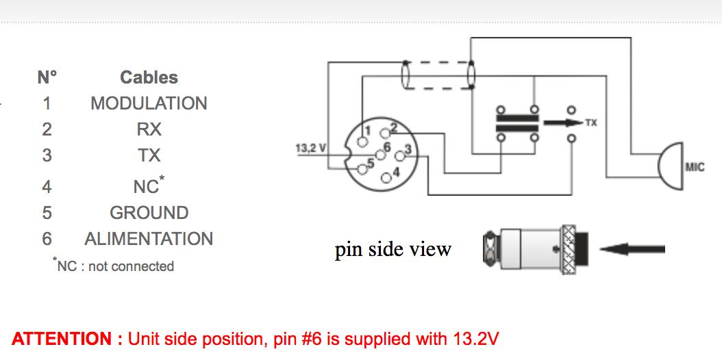 4 Pin Microphone Wiring