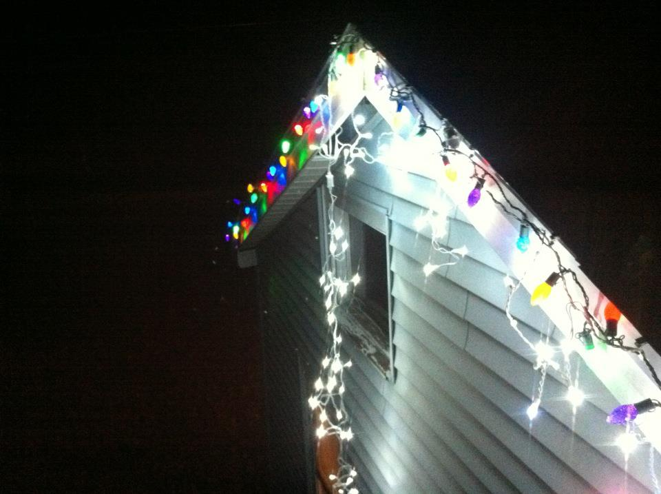 Led Colored Icicle Lights