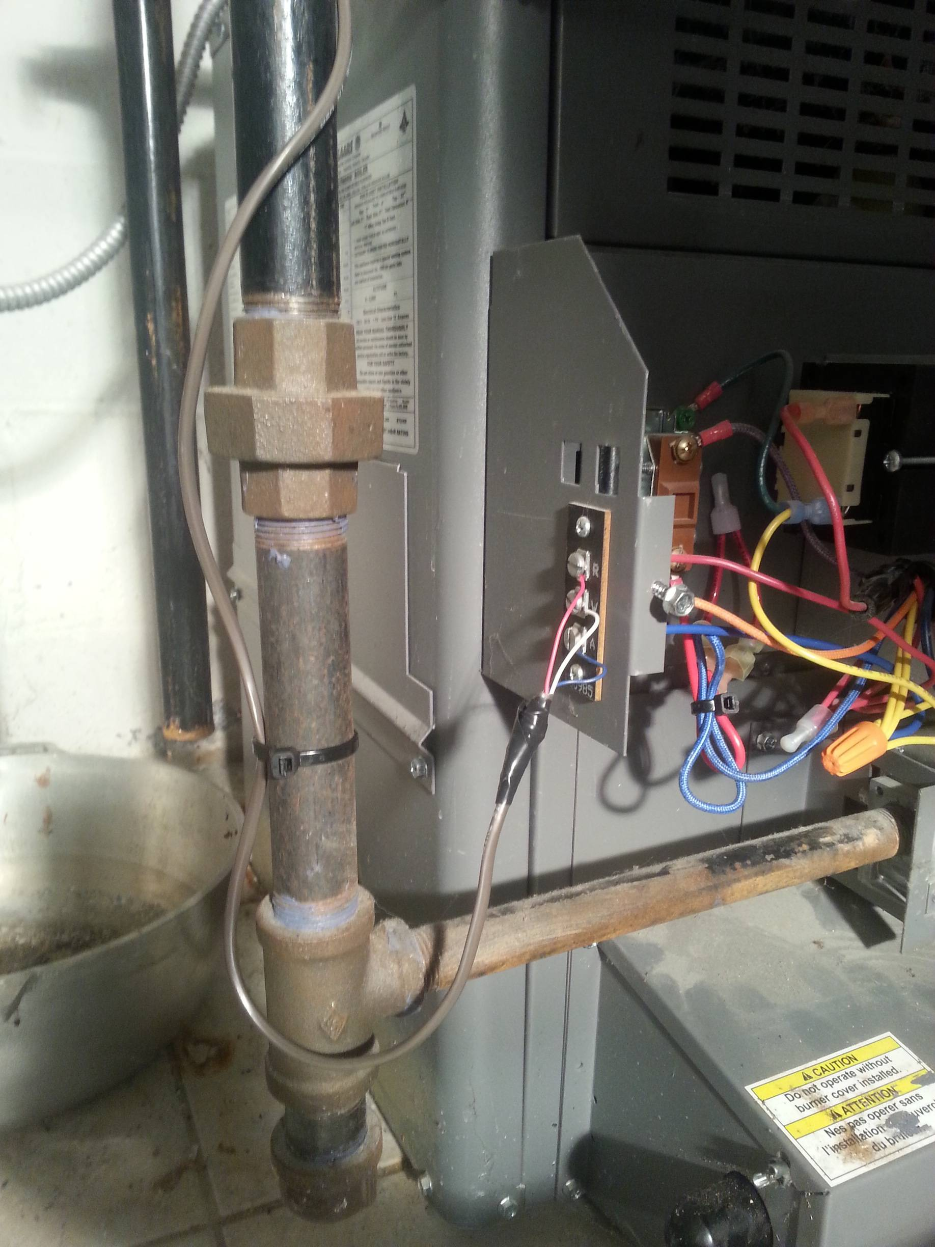 Boiler Where Do I Connect My C Wire From My Thermostat