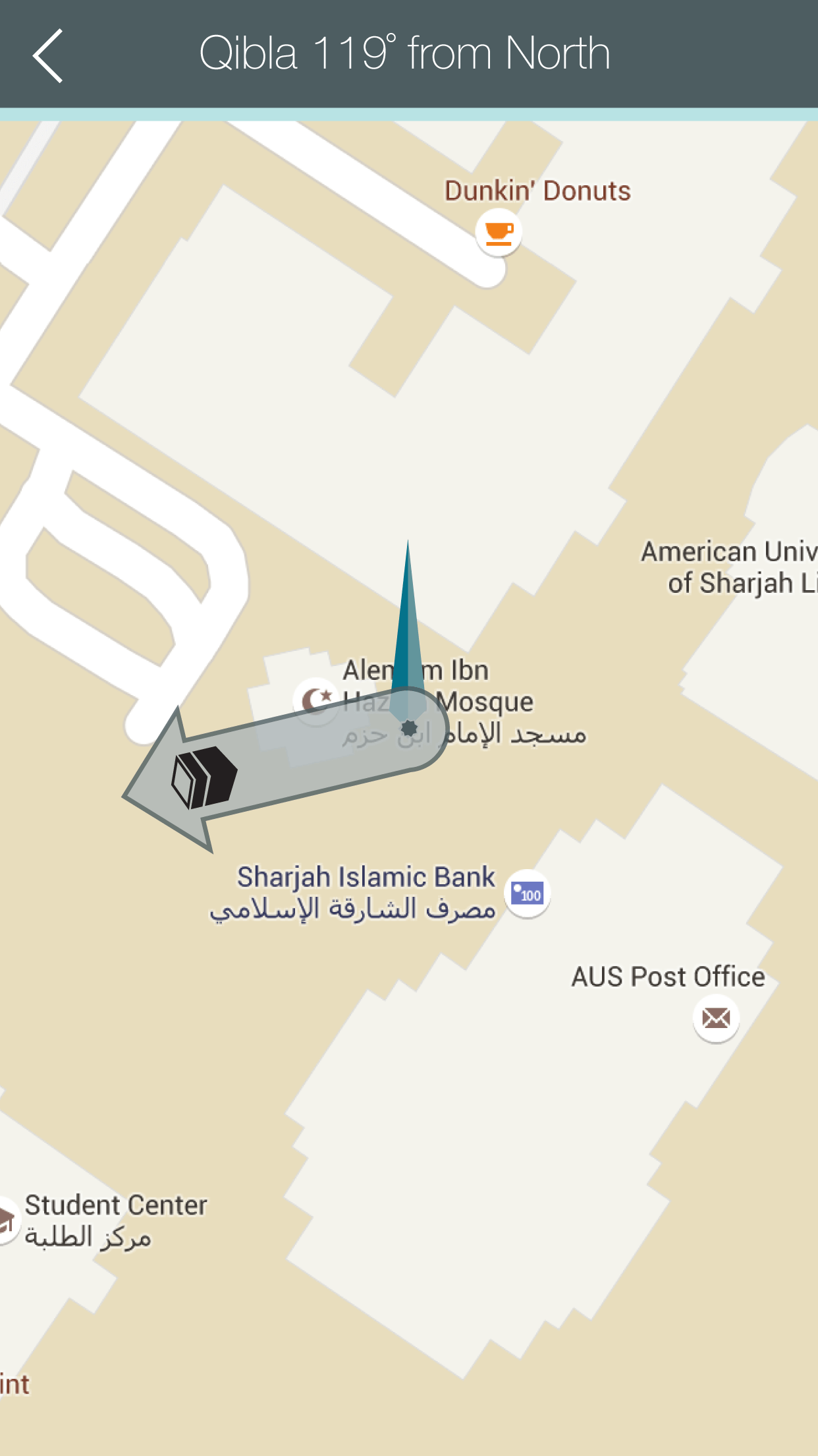 Android how to point Qibla direction on Google map   Stack Overflow