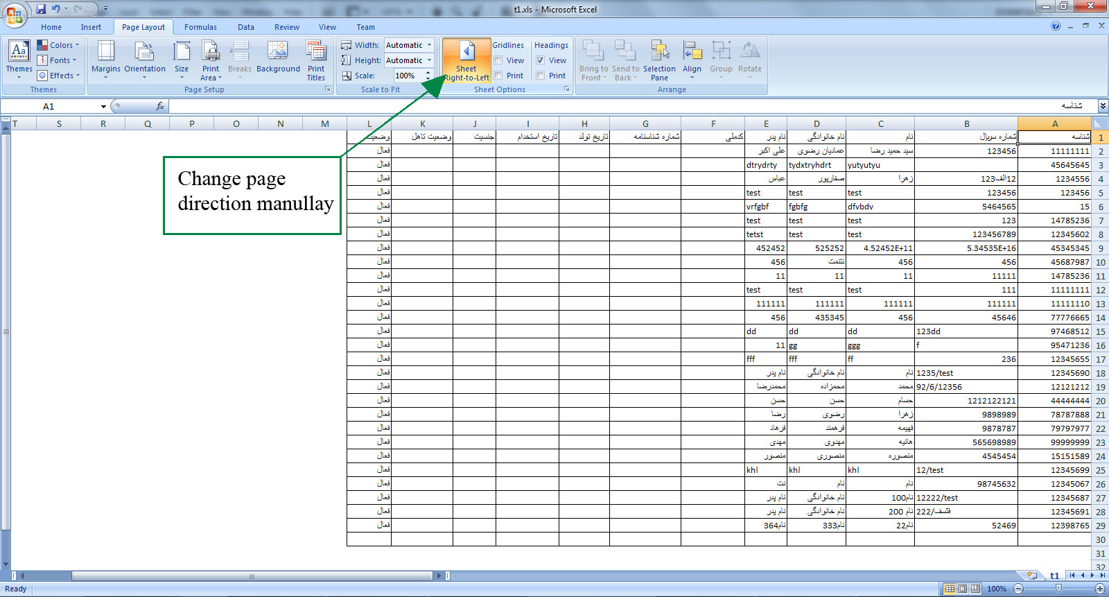 Excel Exp T Right To Left From R Dgridview St Ck Overflow