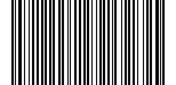 Transparent Barcode Without Numbers