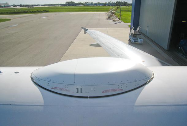 Identification Antenna Aircraft