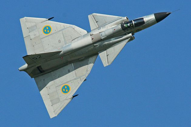 terminology   What is a canard    Aviation Stack Exchange Saab Viggen