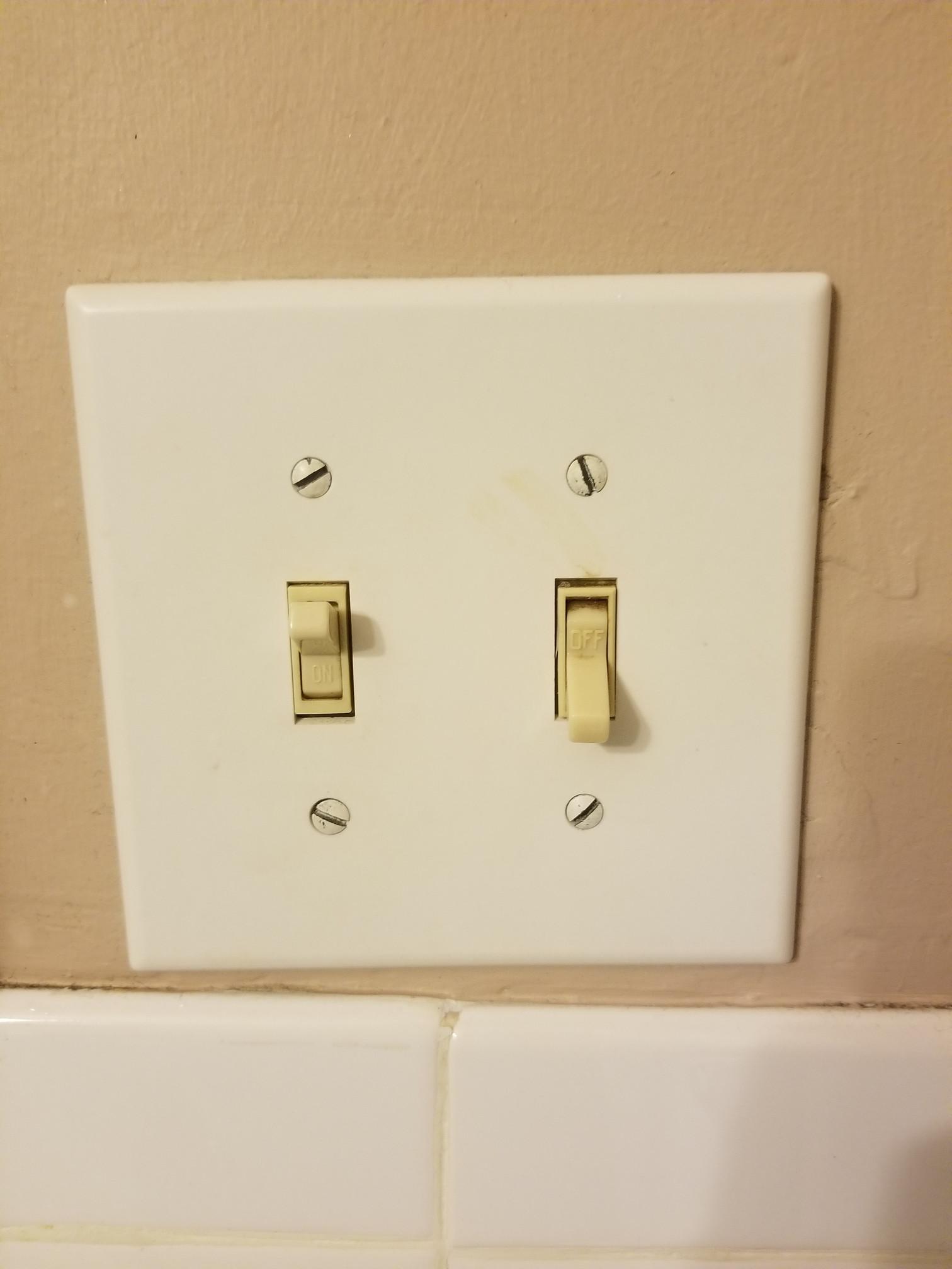 Light Switch Patient Bathroom Hospital