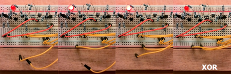 How to combine multiple transistor logic gates without gigantic     Gates  XOR  Best wishes