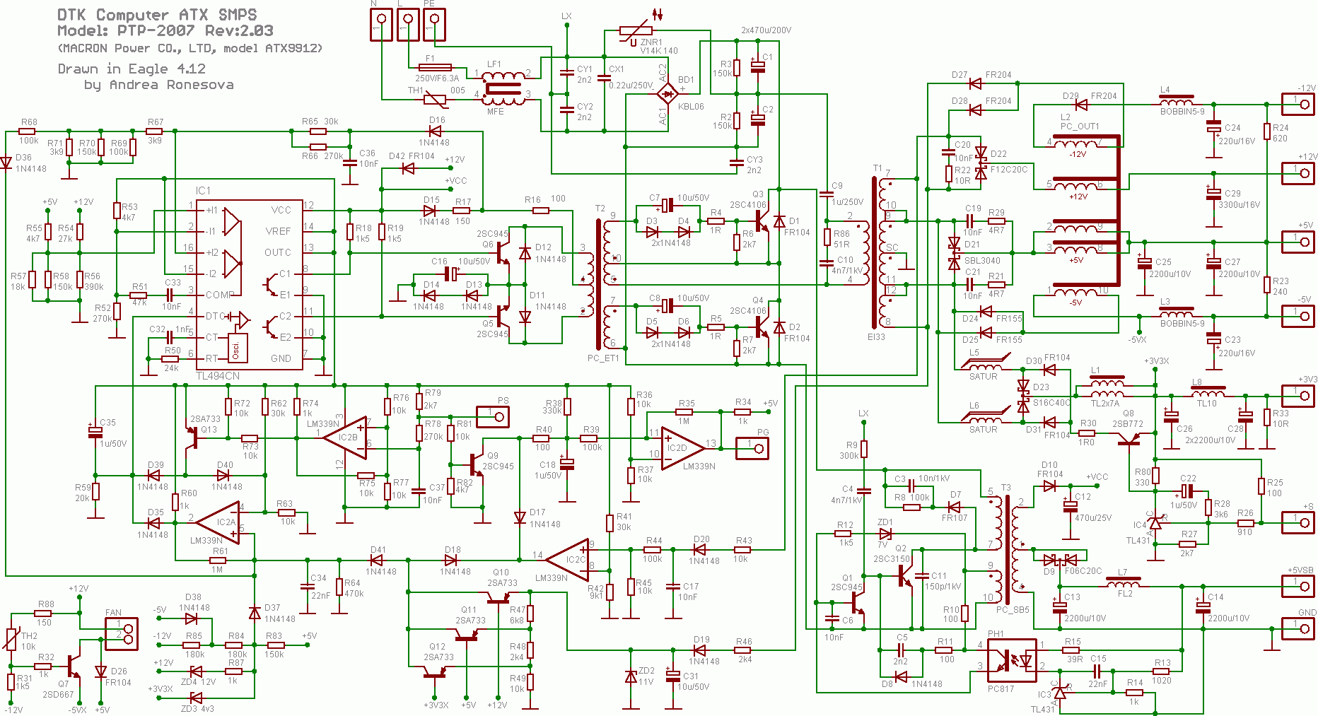 Igbt Inverter Circuit Diagram Ckt Of