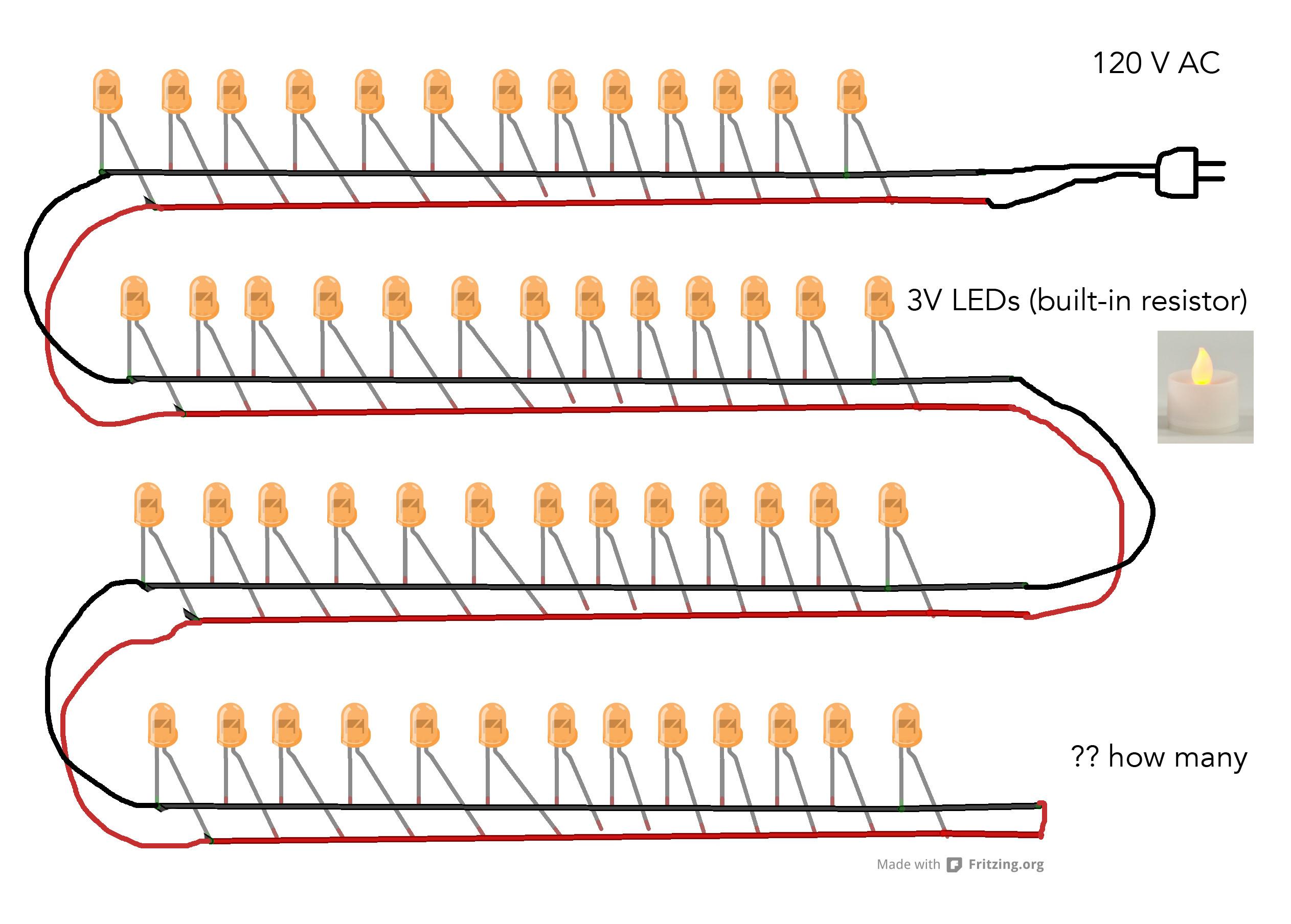 Recessed Light Series Diagram
