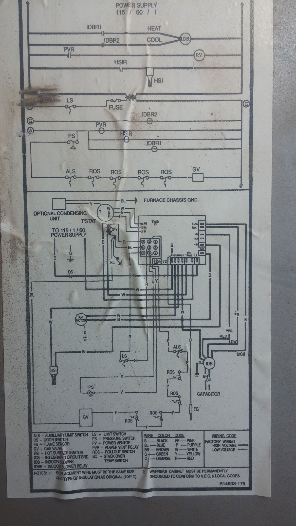 Empire Heater To Thermostat Wiring Diagram Wall
