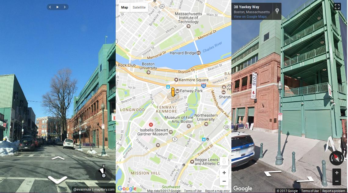javascript   How to synchronize a map  Google Map   Mapillary and     enter image description here
