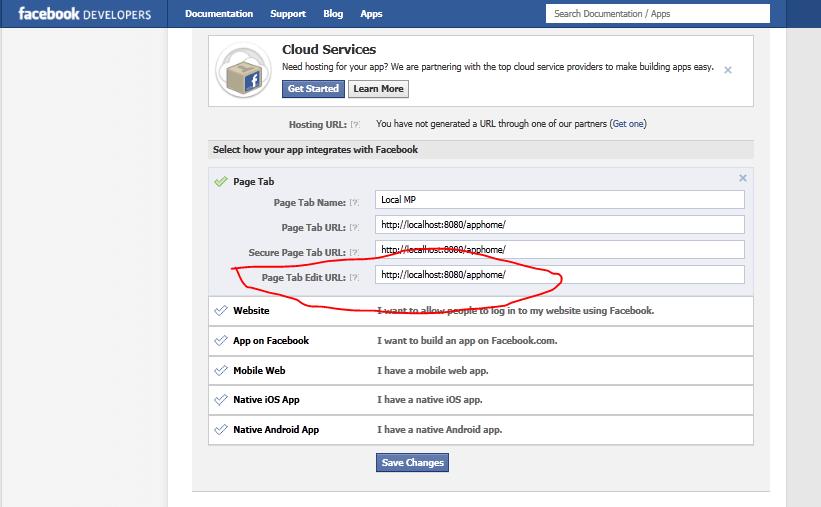 My Url Address Facebook