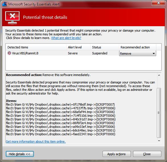 Microsoft Security Website