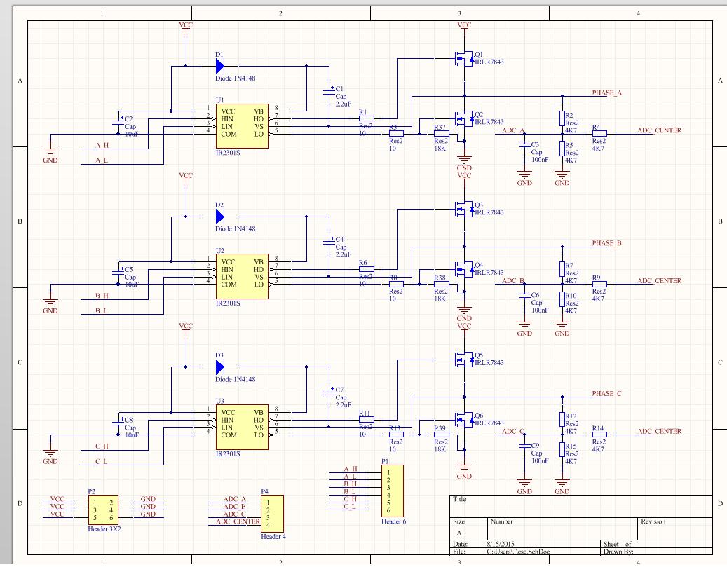Brushless Dc Motor Controller Schematic Driver Block Diagram