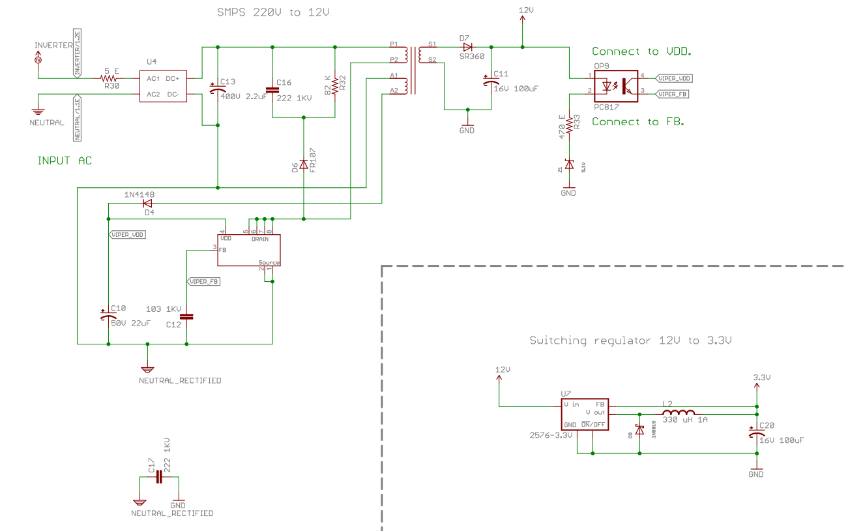 Smps Transformer Design 12vregulatedpowersupplycircuitdiagrampng