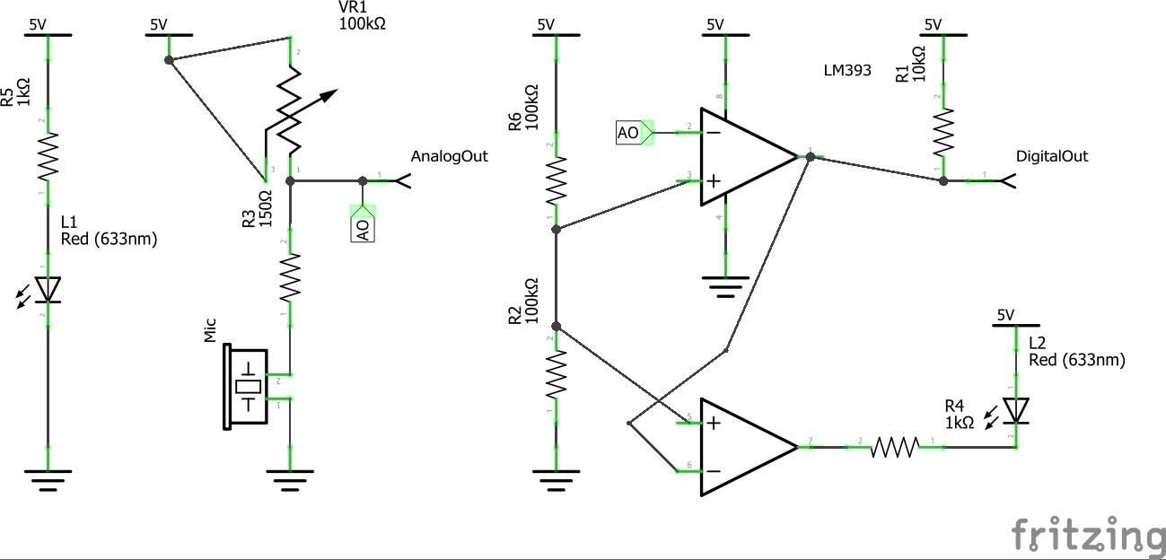 Op Amp Comparator Circuit Opamp