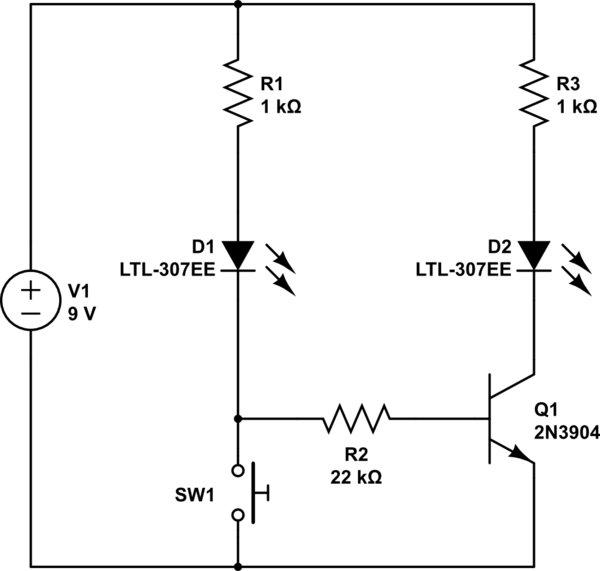 Simple Circuit With Switch