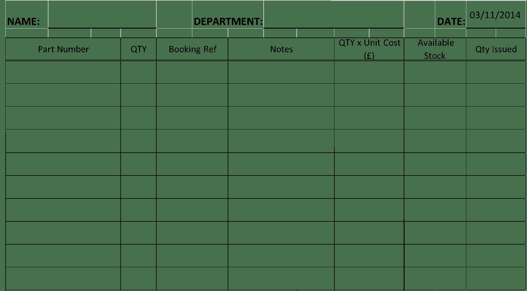 Information Paper Format