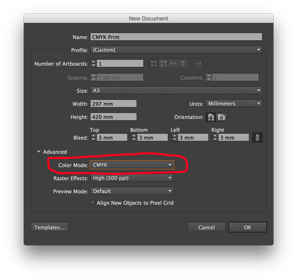 Print Design How To Save As Adobe Pdf With Cmyk Color