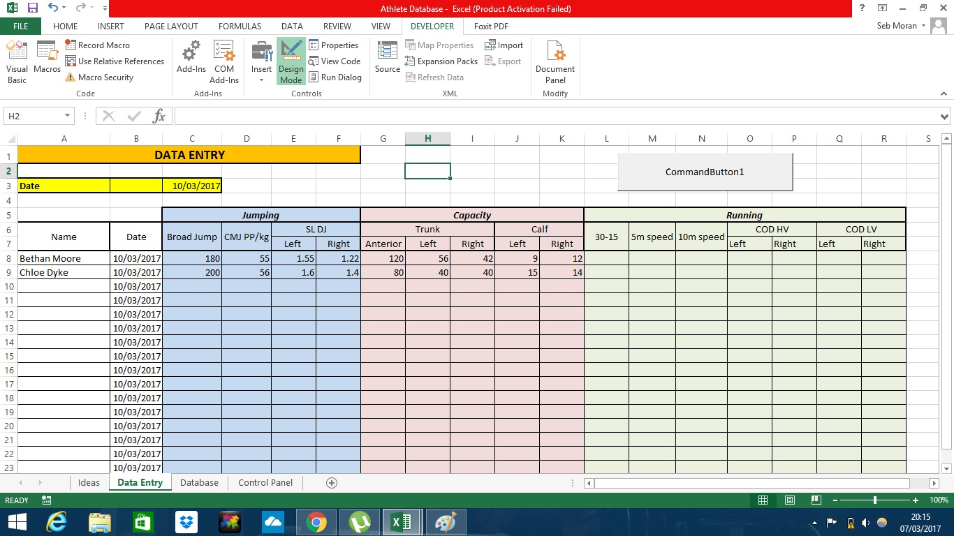 Excel Copy D T To First Bl Nk Row Her Sheet Ly