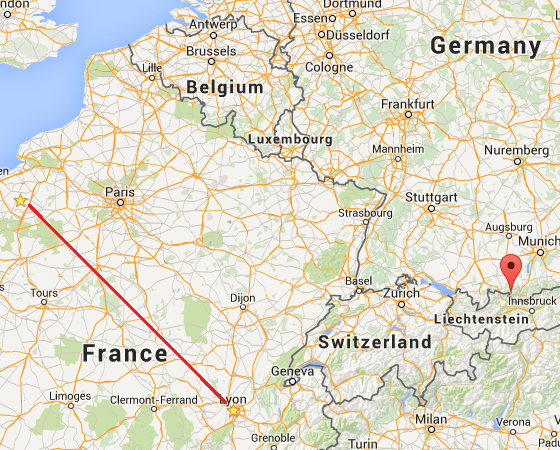 Map Normandy Germans Were Located Where