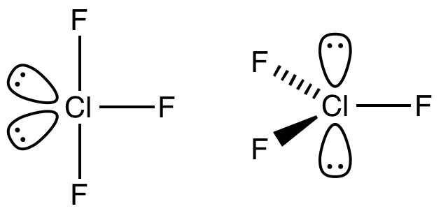 Chlorine Trifluoride Lewis Dot Structure