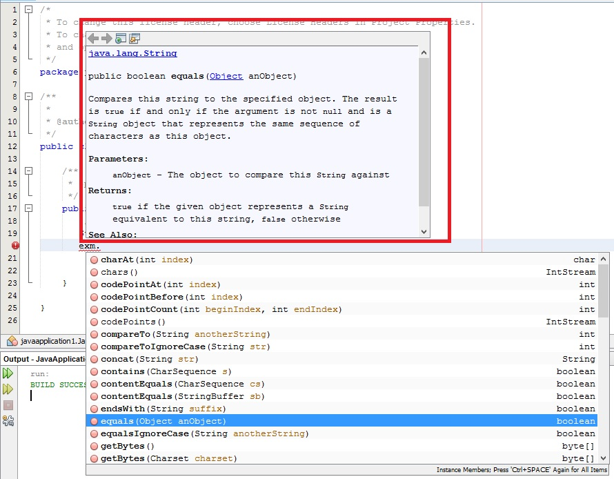java - How to have the pop-up window for method definition in intelliJ while selecting the ...