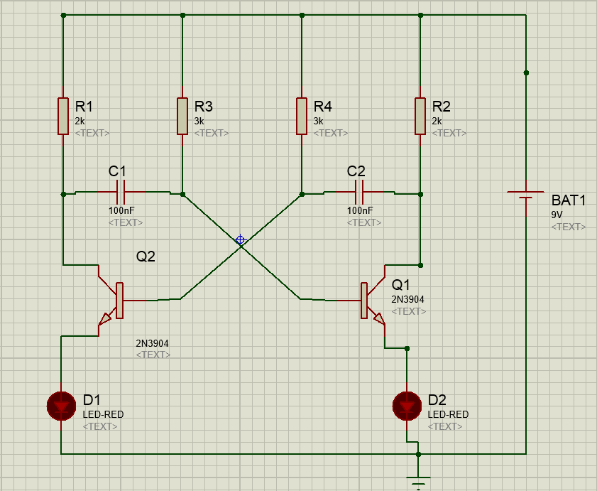 Solar Power Supply Circuit