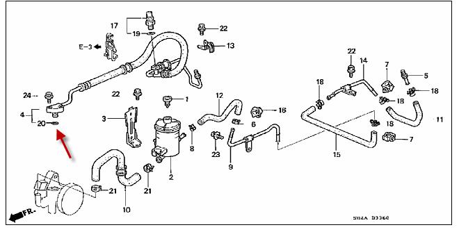 Honda Civic Serpentine Belt Diagram