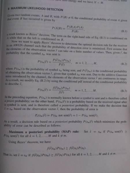 equalization   Maximum Likelihood Derivation   Signal Processing     maximum likelihood 1