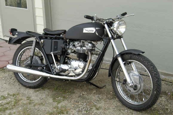 1959 Triumph Bonneville Chopper