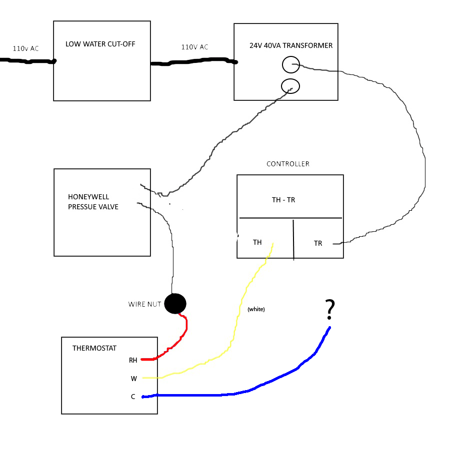 24v Transformer Wiring Diagram For Thermostat