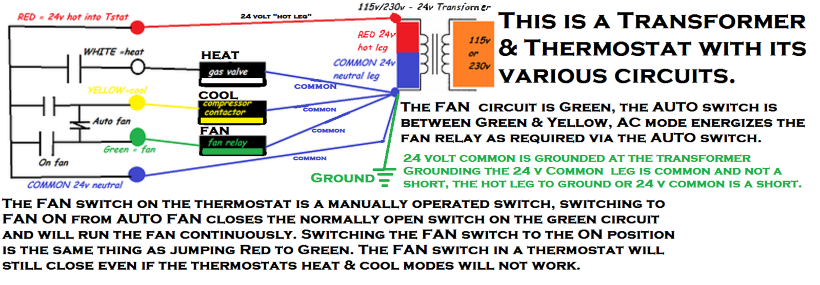 Heater Connected Red Relay Wire