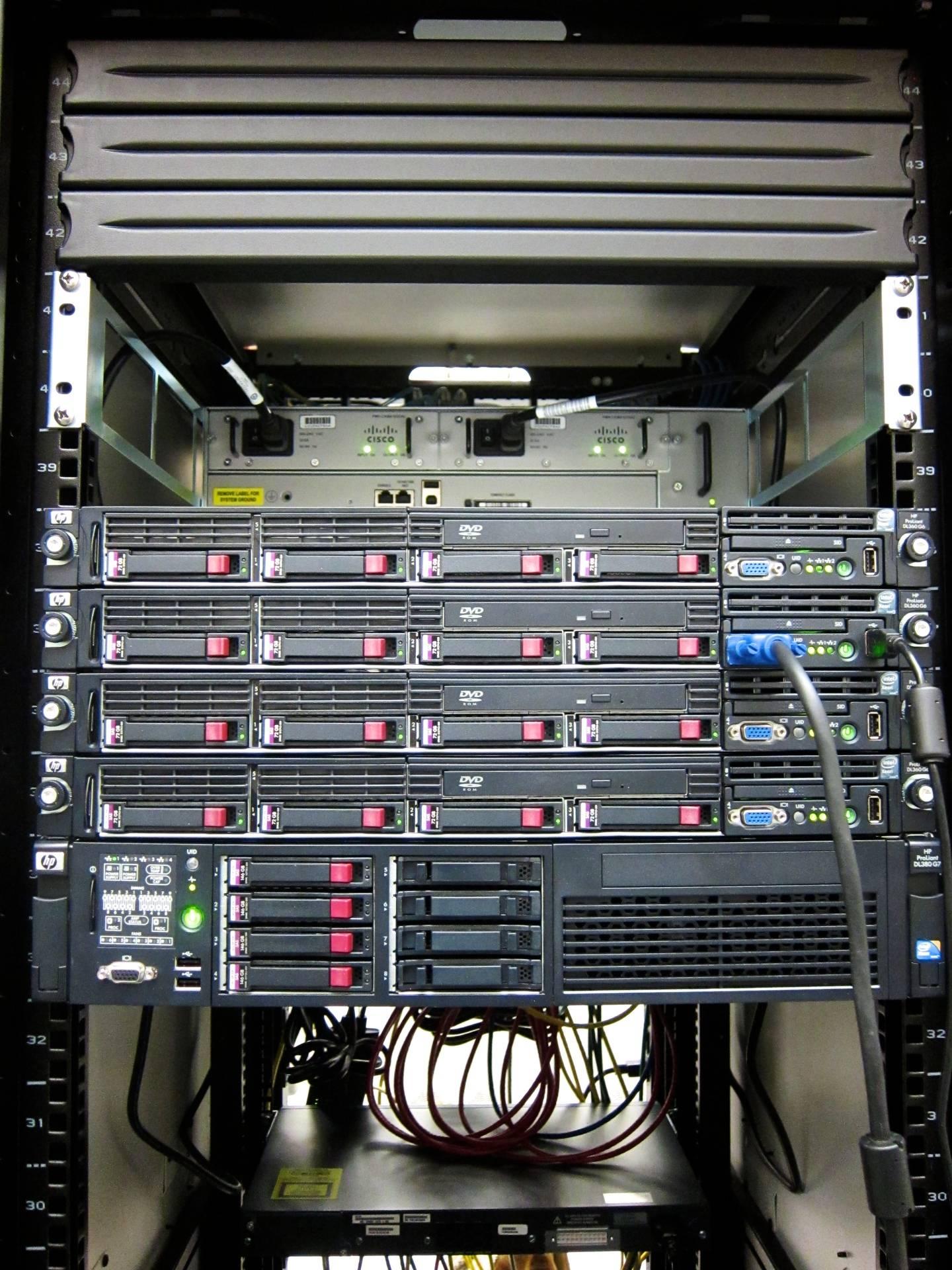 Network Wiring Closet Organizers Diagram